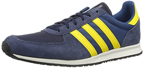 new style 8e159 27160 adidas Originals Adistar Racer, Sneaker uomo, Blu (Legend Ink Tribe Yellow