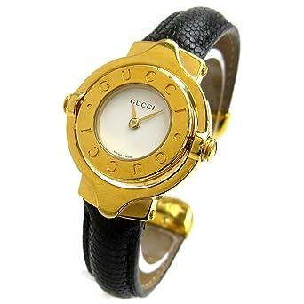 fe49ed733a81 [グッチ]GUCCI 腕時計 ターンGダイヤル ゴールド バングルウオッチ 白文字盤 watch レディース