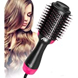 AU Plug Hot Air Brush,One Step Hair Dryer & Volumizer Hair Dryer & Volumizing Styler Comb 3-in-1 Negative Ion…