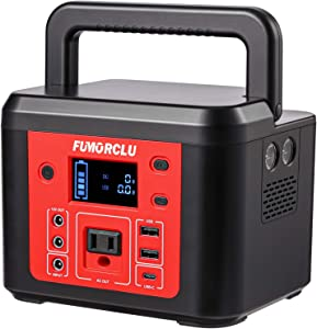 Portable Power Station,FUMORCLU 178Wh/48000mAH 180W (Peak 200W)Backup Lithium Battery, Solar Generator (Solar Panel Not Included) With DC /AC /USB Outlets for Outdoor Camping Travel Emergency Home