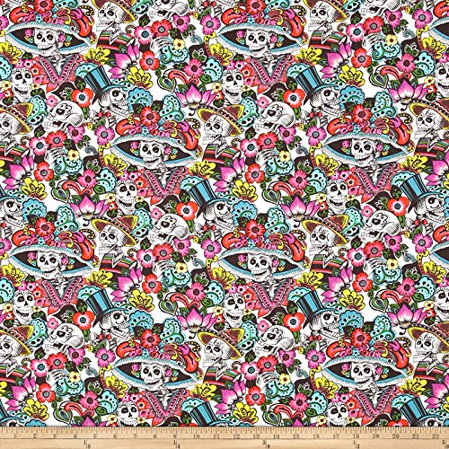 alexander-henry-folklorico-catrina-chiquita-natural-fabric-by-the-yard