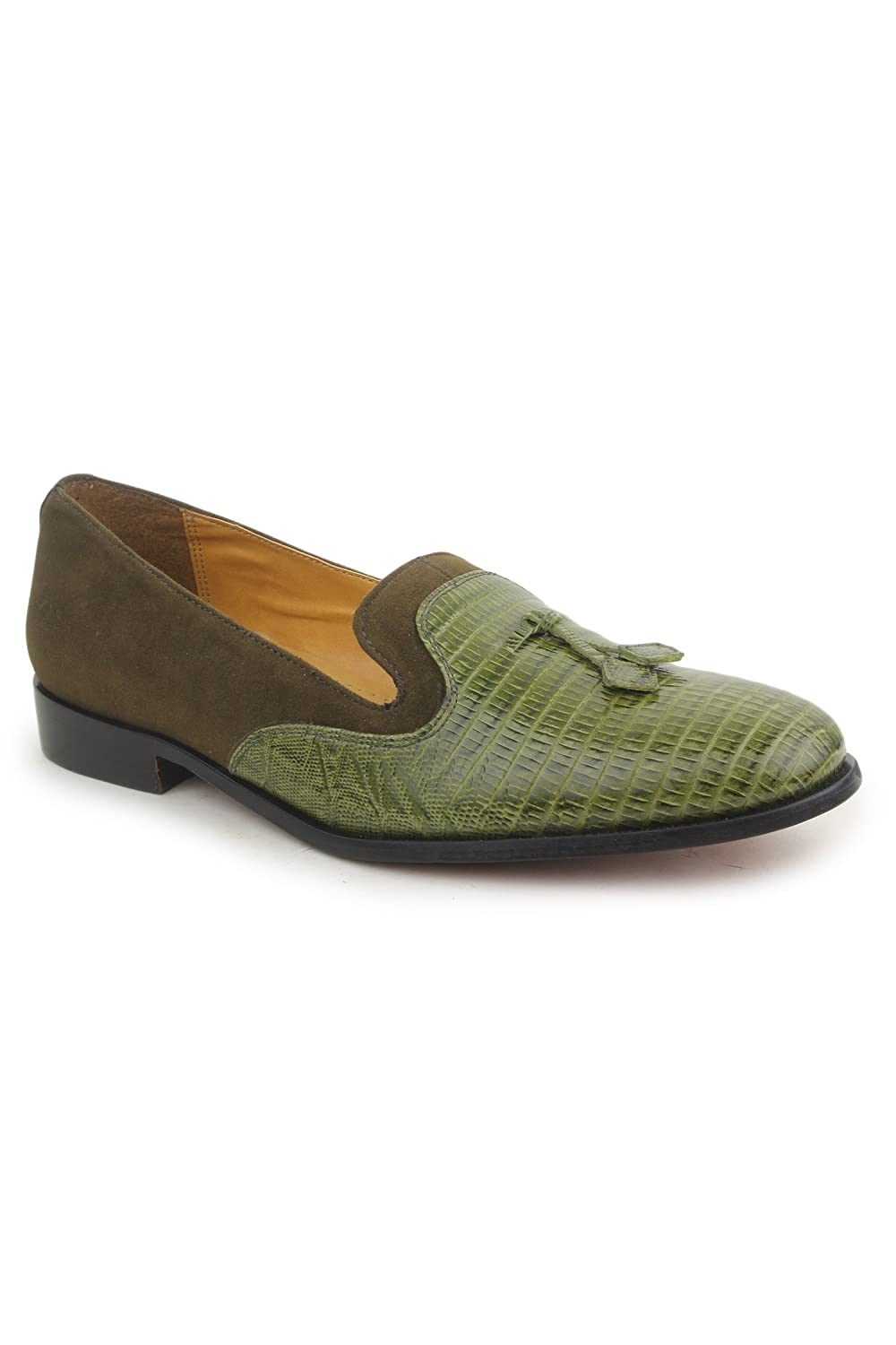 Liberty Mens//Big Boys PU Leather Padded Footbed Tassels//Slip-On//Loafer Shoes