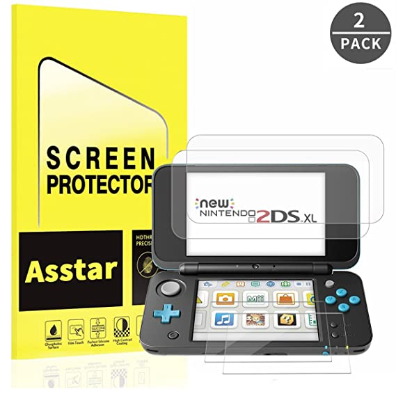 Amazon.com: Nintendo 2DS XL Protector de visualización ...