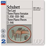 Schubert: The Last Three Piano Sonatas (2 CDs)
