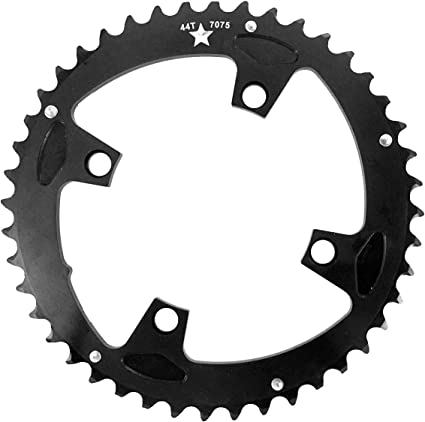 BLACK NEW SRAM TRUVATIV 4 BOLT 104 BCD 32T RAMPED /& PINNED CHAIN RING