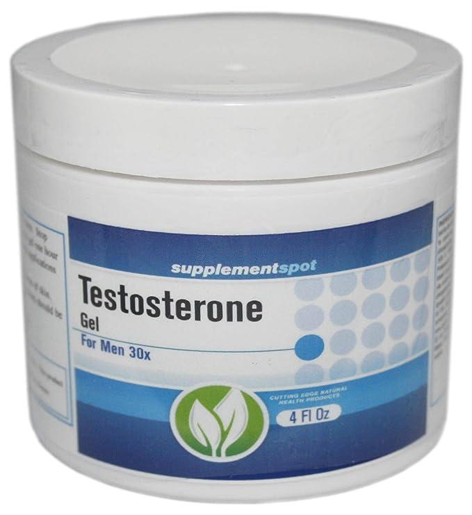 Gel de testosterona para el crecimiento hombres 4 oz ...