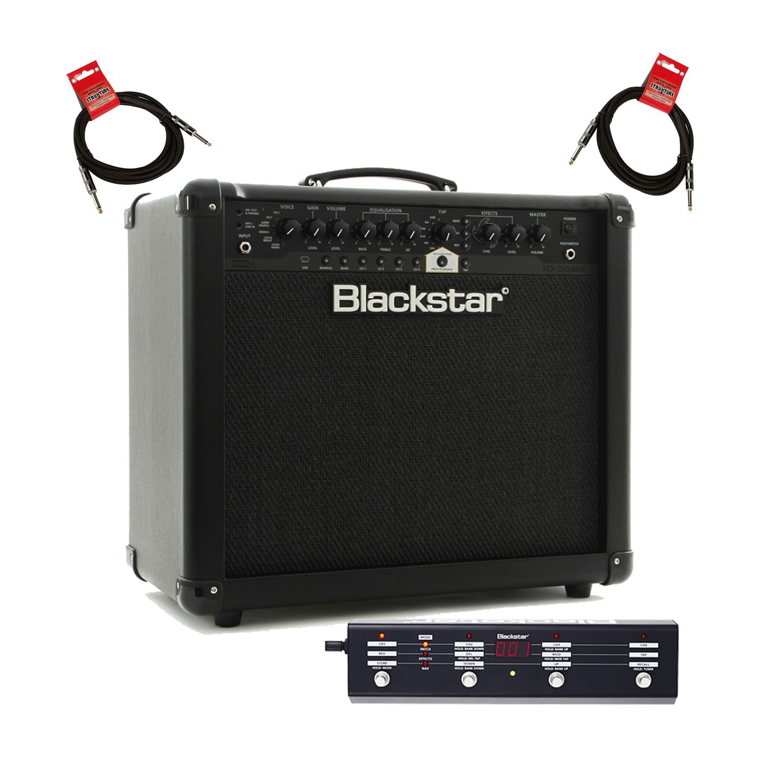 Blackstar ID30 Programmable Combo with Effects, 1X12'' 30W