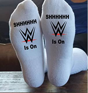 WWE, Socks, Wrestling, We Can Print Anything, Socks, Shirts, Morale