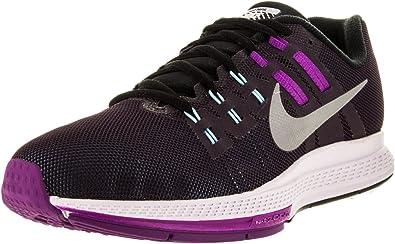 Nike W Air Zoom Structure 19 Flash, Zapatillas de Running para Mujer, Morado (NBL Purple/Rflct Slvr-Vvd Prpl), 40 1/2 EU: Amazon.es: Zapatos y complementos