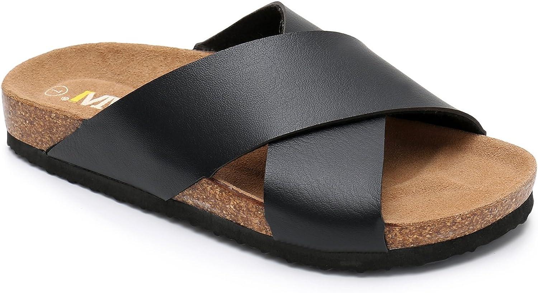 2019 Summer Beach Roman Sandal Ladies Open Toe Flat Sandal #30,Brown,40,United States