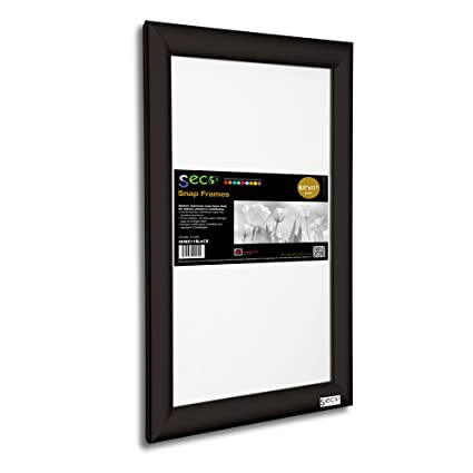 Amazon.com: SECO Front Load Easy Open Snap Frame Poster/Picture ...