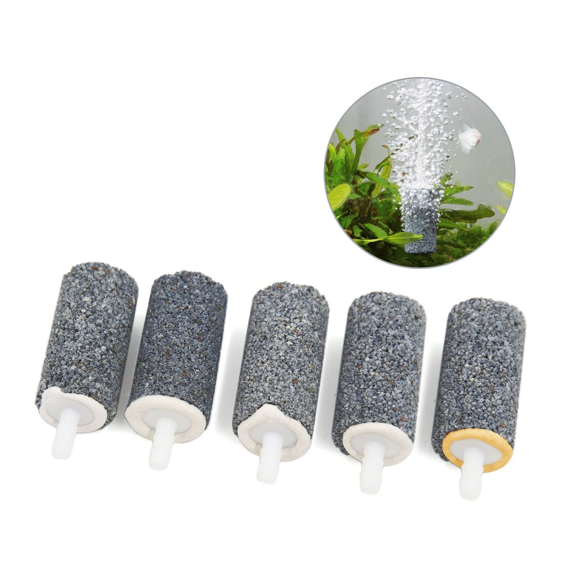 Air stone bubble diffusers with various shapes