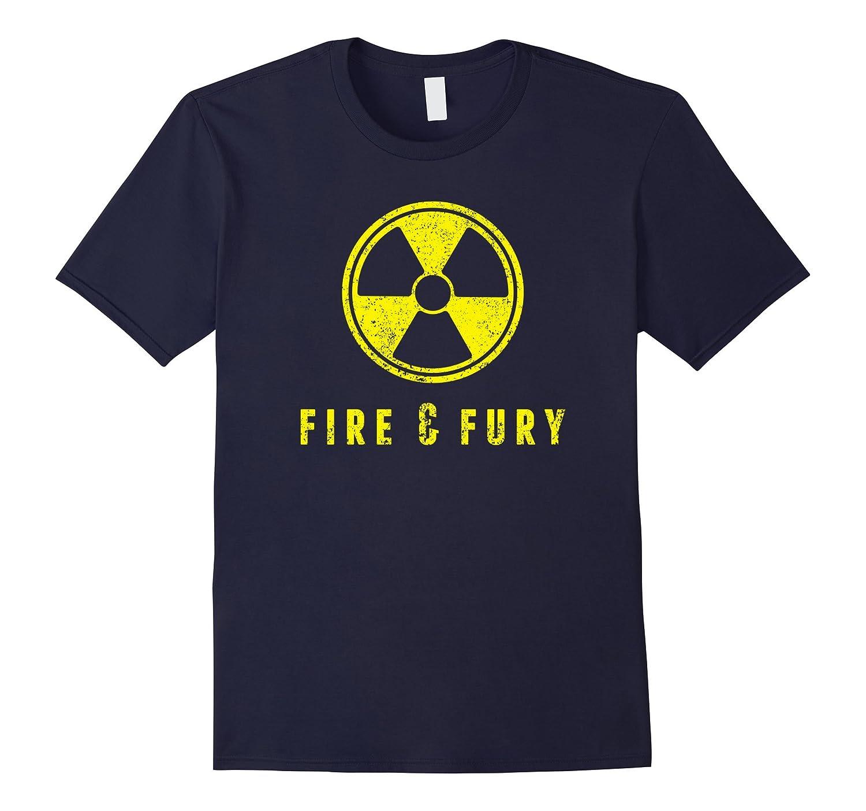 Fire and Fury Shirt - USA North Korea - Nuclear Bomb-Art