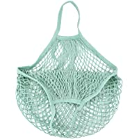 ESAILQ Mesh Net sac shopping réutilisable, protection de l'environnement Shopping Bag, tortue provisions, STRING, des fruits le stockage, Sac à main Totes, Range-jouets – filet de rangement