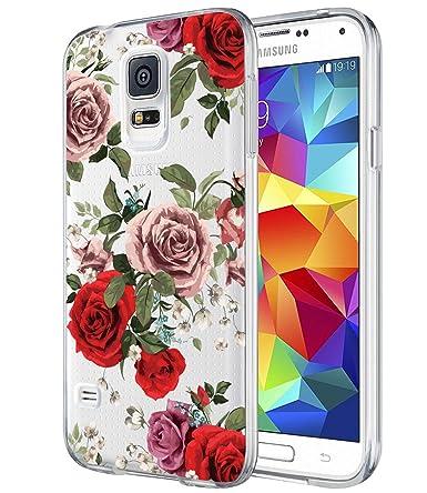 Amazon.com: BAISRKE - Carcasa para Samsung Galaxy S5 i9600 ...