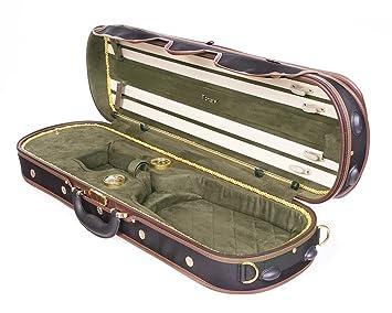 Tonareli Deluxe - Funda para violín 4/4 - de oliva ...