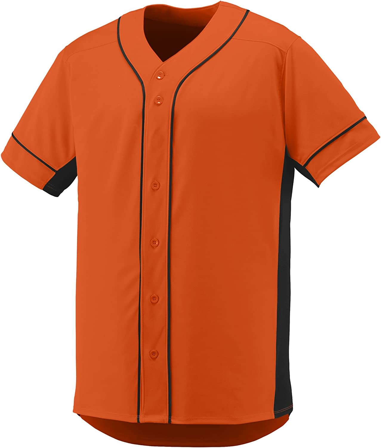 Augusta Sportswear Boys' Slugger Baseball Jersey S Orange/Black