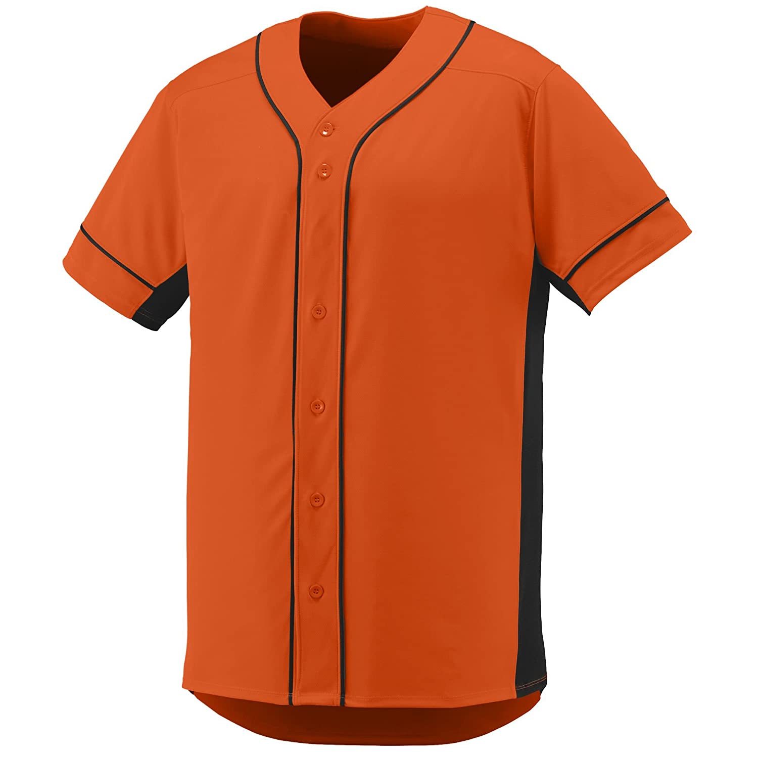 Augusta Sportswear Boys' Slugger Baseball Jersey L Orange/Black