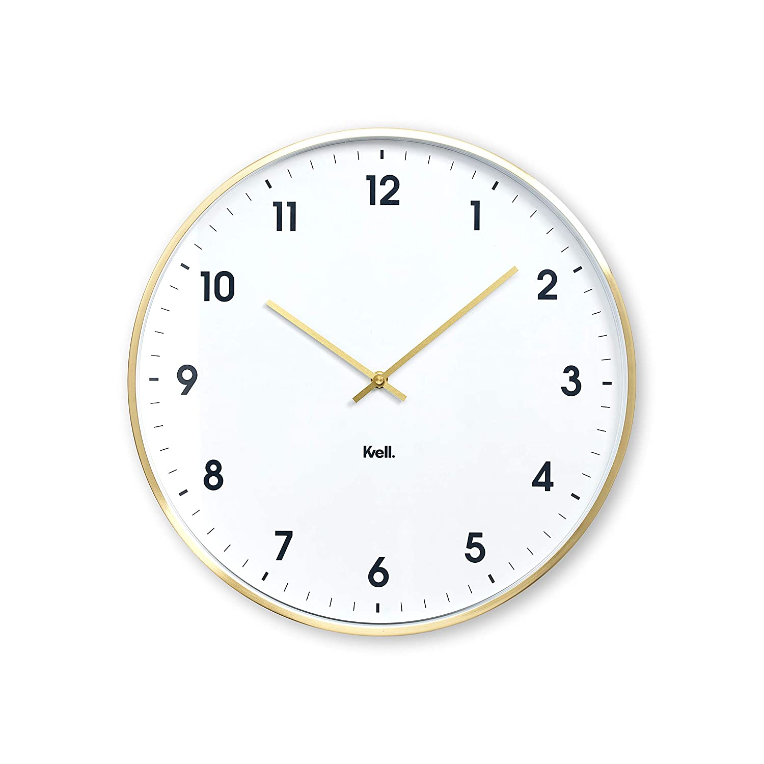 Kvell Klassic Wall Clock Brushed Rose Gold CL9013-018