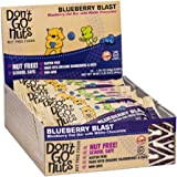Don't Go Nuts Nut-Free Organic Snack Bars, Blueberry Blast, Blueberry with White Chocolate, 12 Count