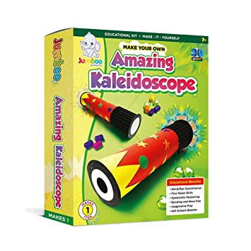 Jumboo Toys Diy 3d Amazing Kaleidoscope Kids Toy Craft Project Kit