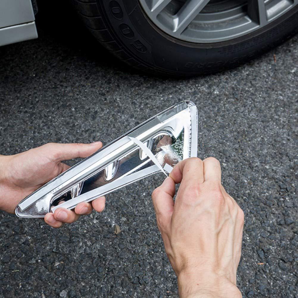 JIRENSHU ABS Accessori per Lo Styling dellauto Adesivo per Rivestimento dello sfiato dellAria Laterale in Fibra di Carbonio per BMW X3 G01 2017 2018