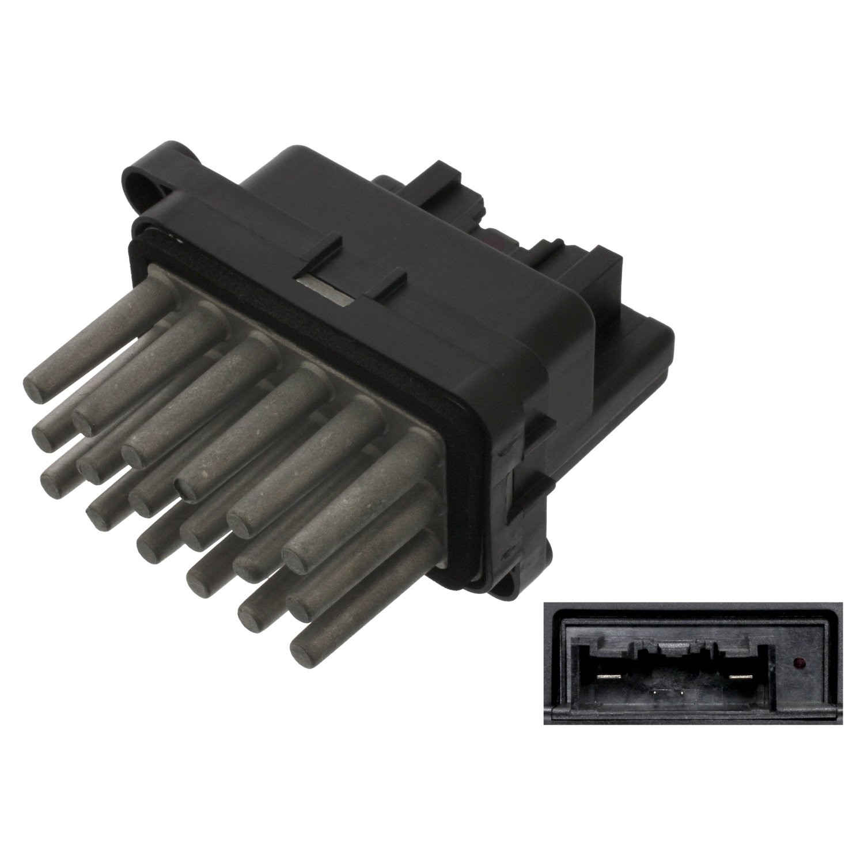 pack of one febi bilstein 38645 Resistor for blower