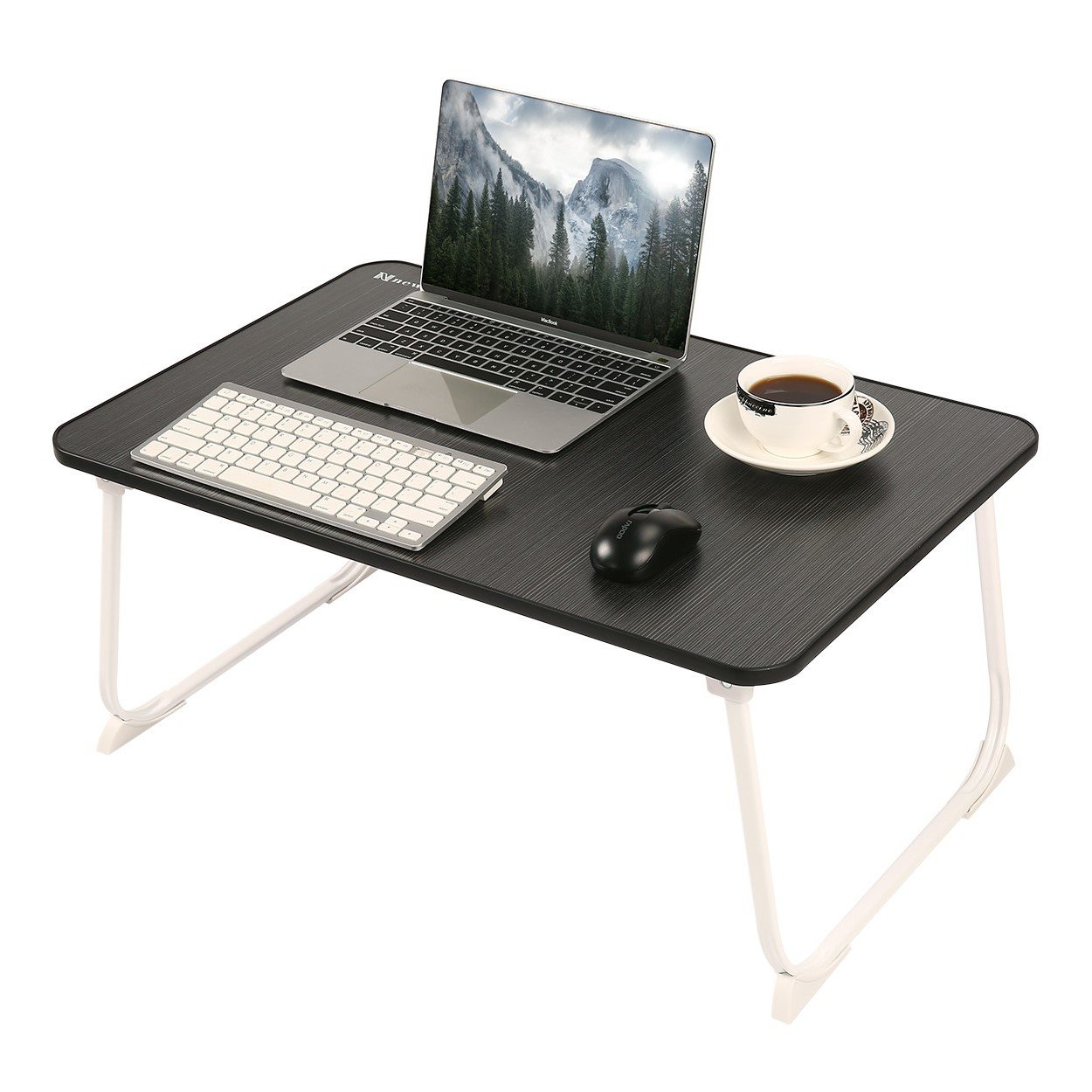 NNEWVANTE Lap Desk, Laptop Table Folding Laptop Desk Notebook Stand Reading Holder Bed TablePortable Breakfast Serving Tray for Bed Couch Sofa Fit for 17