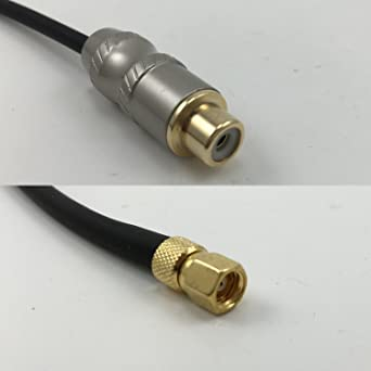 RG316 RCA MALE to SMA FEMALE ANGLE Coaxial RF Cable USA-US