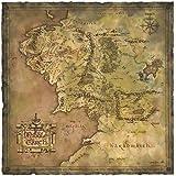 ロード・オブ・ザ・リング/ 中つ国の地図 アートプリント