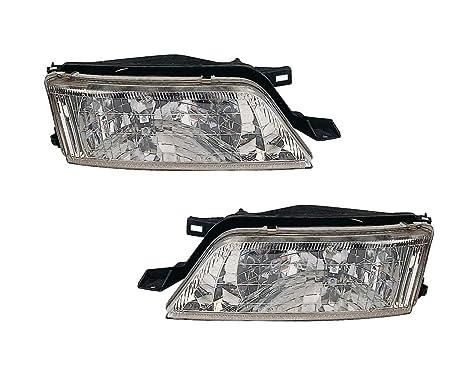 Amazon Com For Nissan Maxima 97 98 99 Head Light With Bulb Set