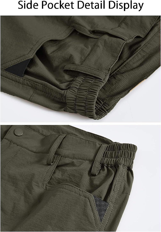 estilo vintage casual de secado r/ápido Donhobo Pantalones cortos cargo para hombre ligeros con 5 bolsillos