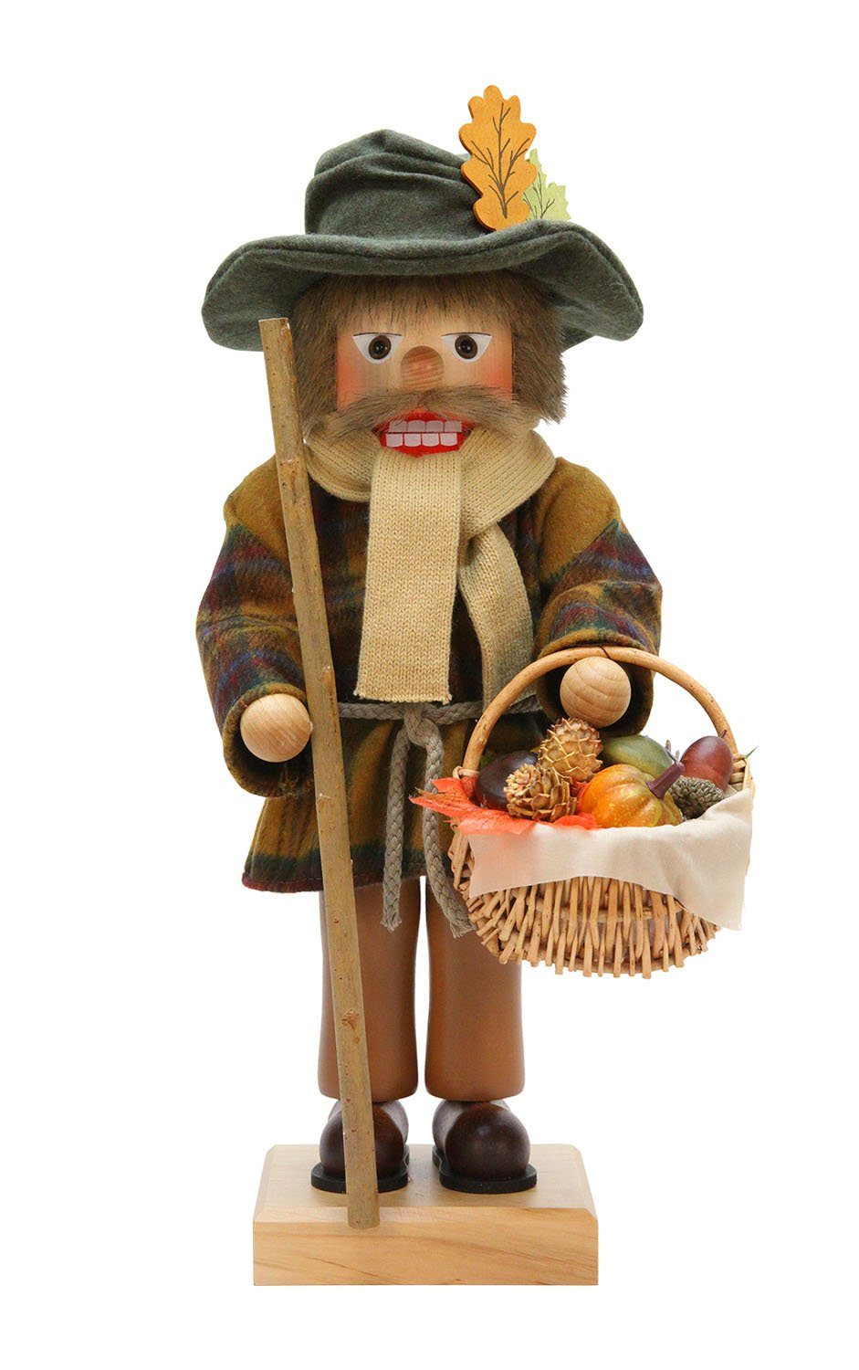 Alexander Taron Christian Ulbricht Decorative Harvest Nutcracker