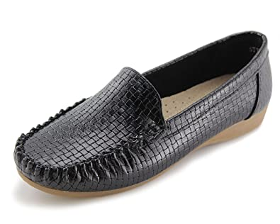 f637e09493330 Jabasic Women's Slip-on Loafers Flat Casual Driving Shoes