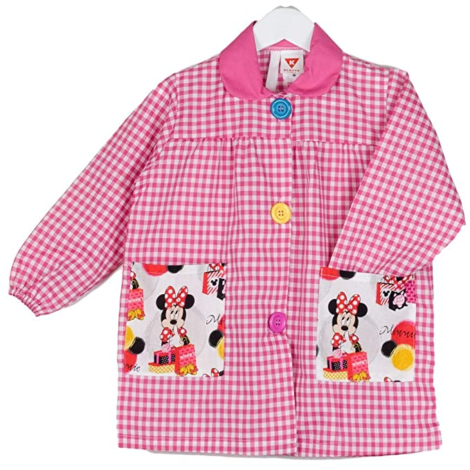 KLOTTZ - BABY MINNIE GUARDERIA BATA ESCOLAR niñas color: FUCSIA talla: 0