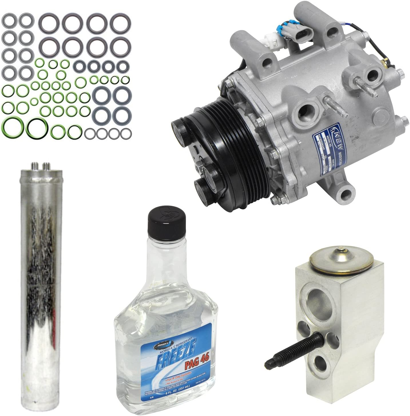Universal Air Conditioner KT 3791 A//C Compressor and Component Kit