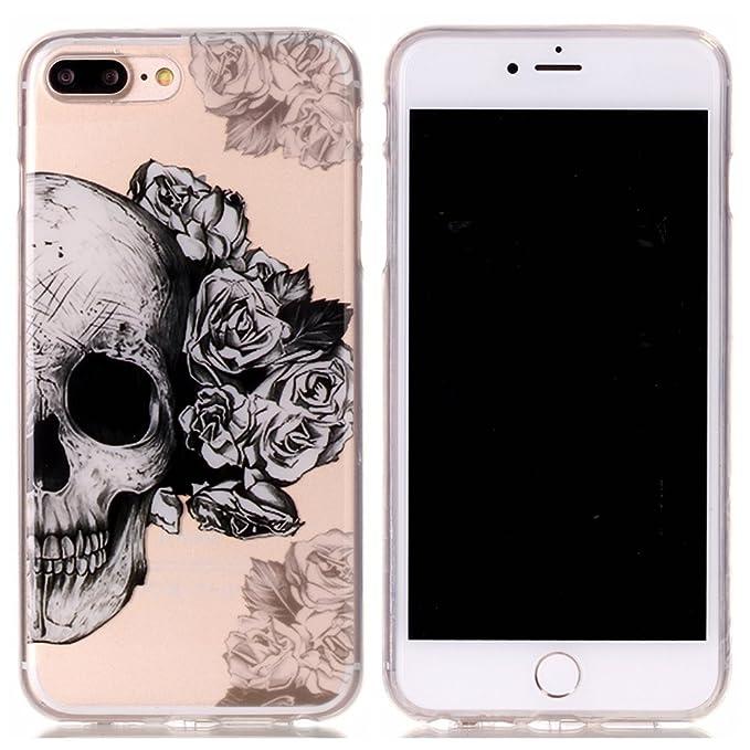 1 opinioni per Custodia iPhone 8 Plus,Cover iPhone 7 Plus,Mo-Beauty® Colorato Creativa Cover