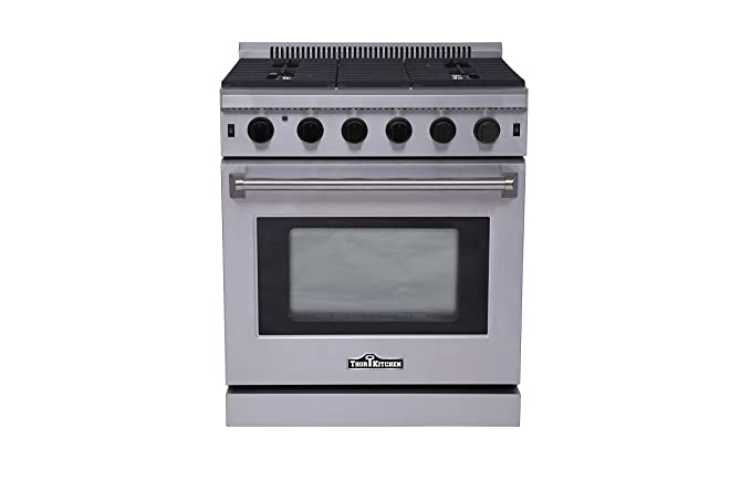 Thorkitchen LRG3001U Freestanding Style Gas Range With 4.55 Cubic Feet  Oven, 5 Burners, Convection
