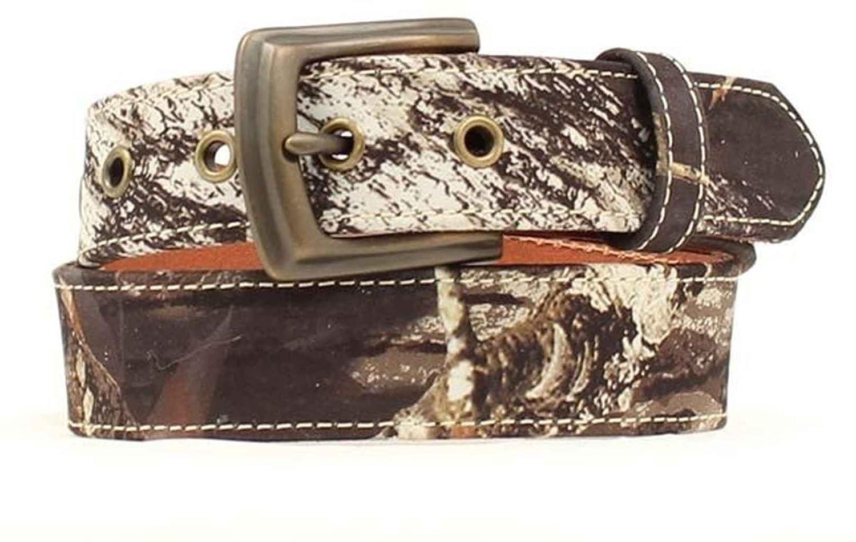 Nocona Boys Mossy Oak Pattern Belt