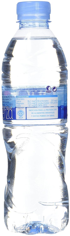 Font Vella - Agua Mineral Natural - 0,5 L - [confezione da 8]: Amazon.es: Alimentación y bebidas