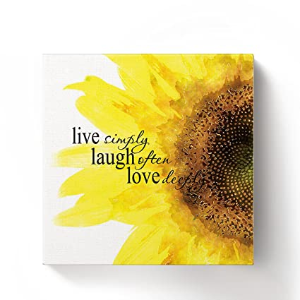 Amazon Com Chucoco Oil Paintings On Canvas Inspirational Quote