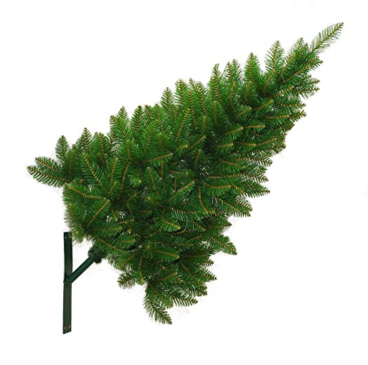 outdoor wall mounted christmas tree 4ft12m with fixing bracket easy to install - Wall Mounted Christmas Tree