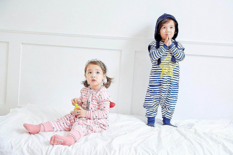 Vaenait baby 86-122 Kleinkinder Maedchen Unisex mit Beinen 100/% Baumwolle Schlafsack Einteiler Spielanzug Schneeanzug Babyschlafsack