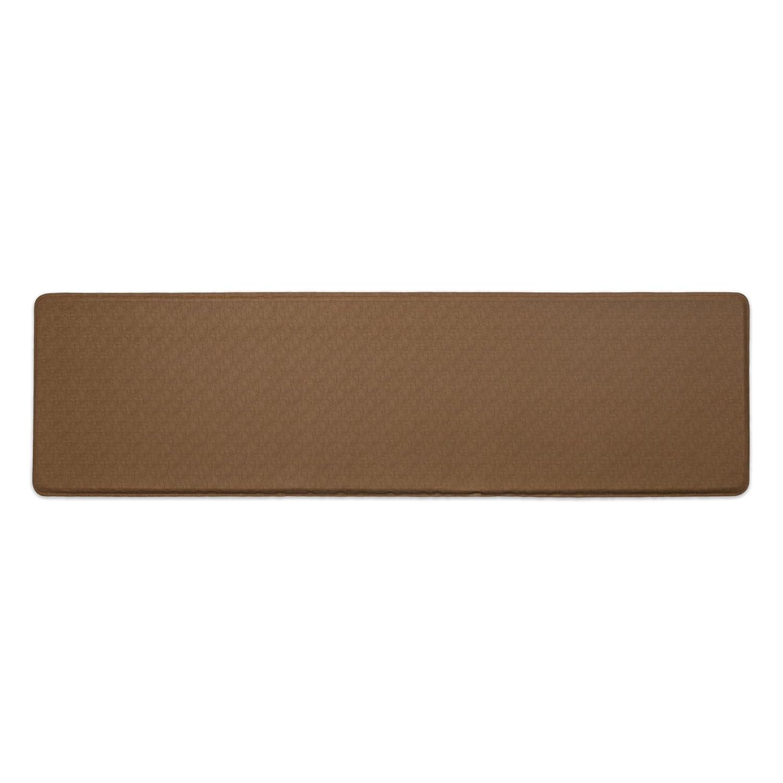 GelPro Linen Kitchen Mat, 20 by 72-Inch, Khaki by GelPro B00P7MXSYG