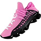 DUORO Men's Running Shoes Women's Casual Sneakers Breathable Mesh Slip on Blade Athletic Lightweight Tennis Sports Shoe…