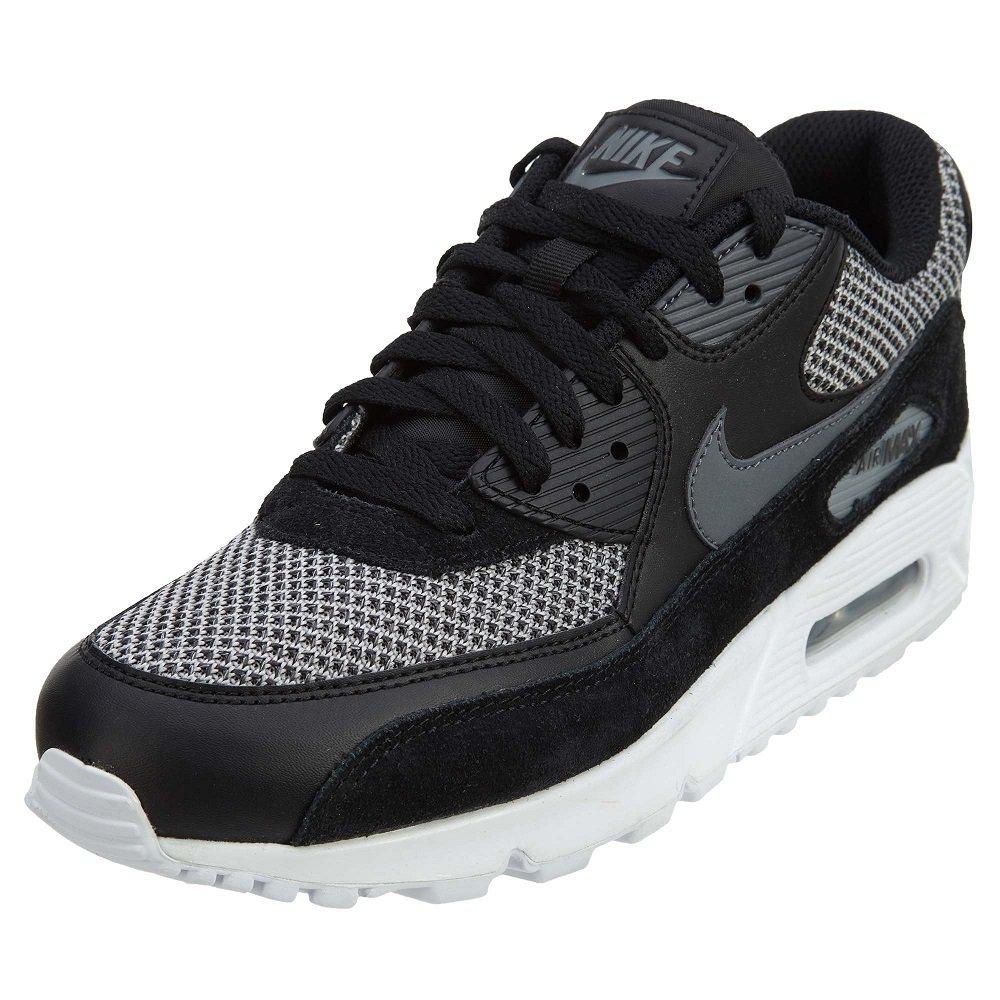 Nike Mens Air Max 90 Essential Running Shoes BlackDark Grey