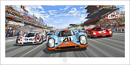 Amazoncom From Steve McQueen in Le Mans Perfect Racing Car