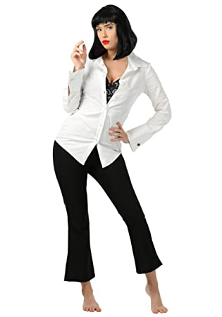 Pulp Fiction MIA Wallace Fancy Dress Costume Small