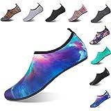 NING MENG Aqua Socks Beach Water Shoes Barefoot Yoga Socks Quick-Dry Surf Swim Shoes for Women Men