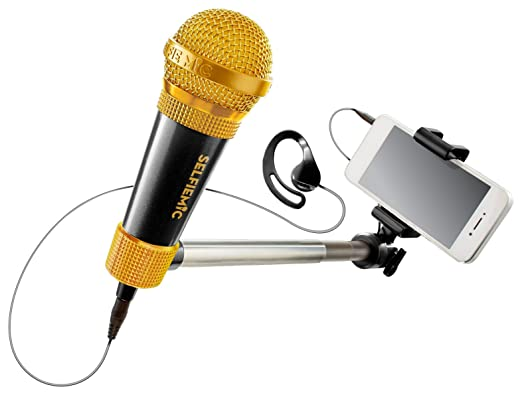 3 opinioni per Selfiemic selfie stick microfono